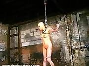 Bizarre Asian Humiliation Of Kumimonster In Dungeon Bondage And Messy Feath