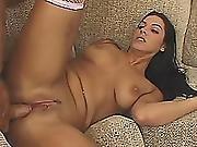 Latina Milf Takes Big Cock Up Her Ass