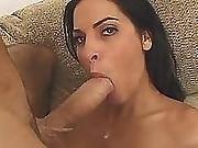 Gorgeous Brunette Takes A Big Cock In Multiple Positions