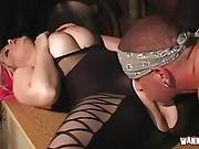 Big Pussy Gets Rammed In Warehouse