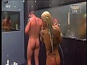 Big Brother Germany Group Shower