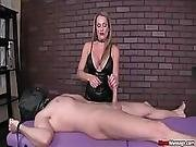 Tough Masseuse Like To See Your Cock Pulsating In Her Hands