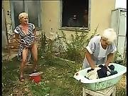 Hungarian Granny - Oma Piss And Fuck