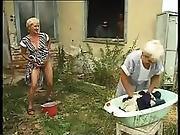 Hungarian Granny - Oma Piss And Fuck