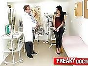 Tiny Babe Victoria Rose Fucked By A Gynecologist