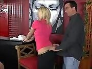 amateur,  blonde,  blowjob,  cumshot,  hardcore,  on top,  workplace