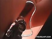 asian,  bicycle,  brunette,  cunt,  doll,  fetish,  hairy,  japanese,  masturbation,  riding,  toys