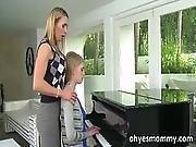 blonde,  blowjob,  busty,  hardcore,  lesbian,  lesbian teen,  mature,  milf,  piano,  student,  teacher,  teen,  threesome
