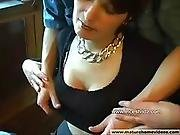 Beauty mommy fucking with her son in summer cottage