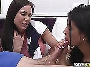 Kendra Lust In Threesome With Stepdaughter Veronica Rodriguez