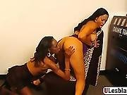 Imani And Dariel In Pussy Licking And Dildo Fucking Action