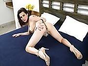 Hottie Ts Gabriela Moans In Anal Sex