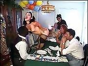 clown,  fucking,  hardcore,  horny,  midget,  naughty,  table fuck