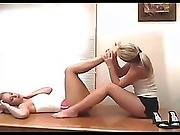 Dee And Ania Foot Worship