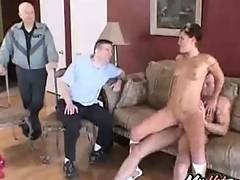 amateur,  brunette,  cumshot,  facial,  granny,  mature,  milf,  old ,  pussy,  smalltits,  threesome,  voyeur