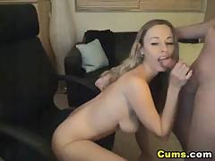 babe,  blonde,  blowjob,  boob,  couple,  fucking,  hardcore,  oral,  pussy,  squirt,  sucking,  wife