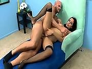 babe,  big cock,  big tit,  brunette,  cop ,  hardcore,  pussy,  sexy,  stocking,  tight,  tight pussy,  uniform