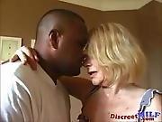Dirty Grandma Gets Ghetto Black Cock