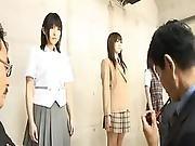 Japanese Av Pornstar And Dolls Are Made Love