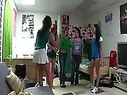 Teens gets a spanking