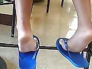 New Friends Candid Beautiful Feet 5