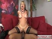 Hot Milf Interracial And Cum On Face