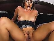 Mila Marx Rides Her Pussy On Top Of Step Bros Cock