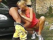 Hawt German Sweetheart Fucket On The Street