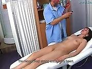 Aged gyno doctor operates a hidden cam - 1 part 5