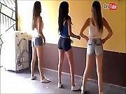 ass ,  brazilian,  butt,  compilation,  dancing,  teen