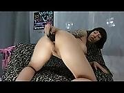 Hot Girl Deep Anal Insertion