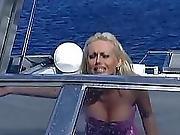 big cock,  blowjob,  boat,  brunette,  couple,  fucking,  oral,  sex ,  shaved,  vaginal