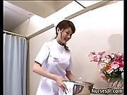 Horny Visiting Asian Nurse