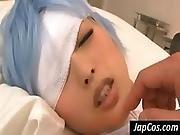 Asleep Asian Patient Suck Cock