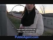 amateur,  cage,  car ,  cash,  cumshot,  fucking,  outdoor,  pov ,  public,  reality,  redhead