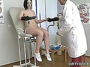 Dirty Doctor Examines Breasts