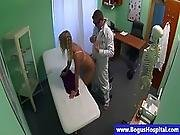 blonde,  doctor,  fingering,  fucking,  hospital,  medical,  nurse,  office,  reality,  spit,  story,  uniform