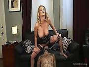 Cherry Gives Her Husband Ruckus An Anal Attitude Adjustment%21%21
