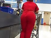 Black Nurse Thong Slip