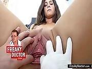 clinic,  doctor,  enema,  examination,  fetish,  gyno,  medical,  petite,  pumped,  pussy,  teen,  tiny