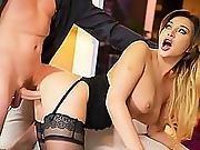 Anna Polina, Sexy Spy Gets Anal Sex