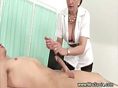 Cuckolds Wife Pampers Cock