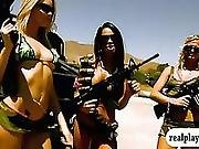 Badass Girls Showed Their Naked Bodies