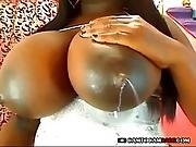 Black Girl Webcam Strip Tease