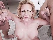 Phoenix Got Two Creamy Loads On Her Mouth And Pussy