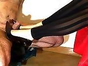 amateur,  cumshot,  european,  foot,  footjob,  games,  handjob,  home,  homemade,  kinky,  legs,  nylon,  pumped,  stocking