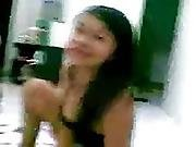 Indonesian Sexy Indo Babe Banged On The Floor