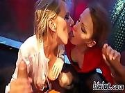 Foxy Lassies Get Fucked In An Orgy