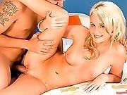 blonde,  couple,  hardcore,  panties,  panty sniffing,  teen