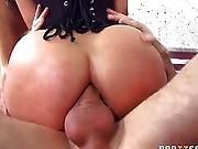 anal,  butt,  leashed,  sex ,  threesome